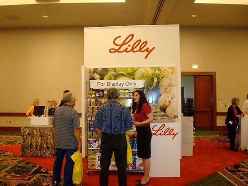 Eli Lilly Booth