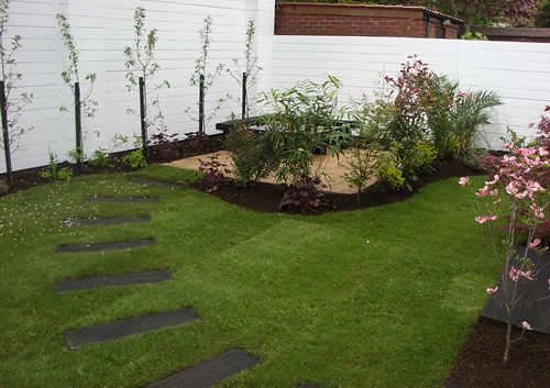 Triyae Com = Simple Garden Ideas For Small Backyard Various