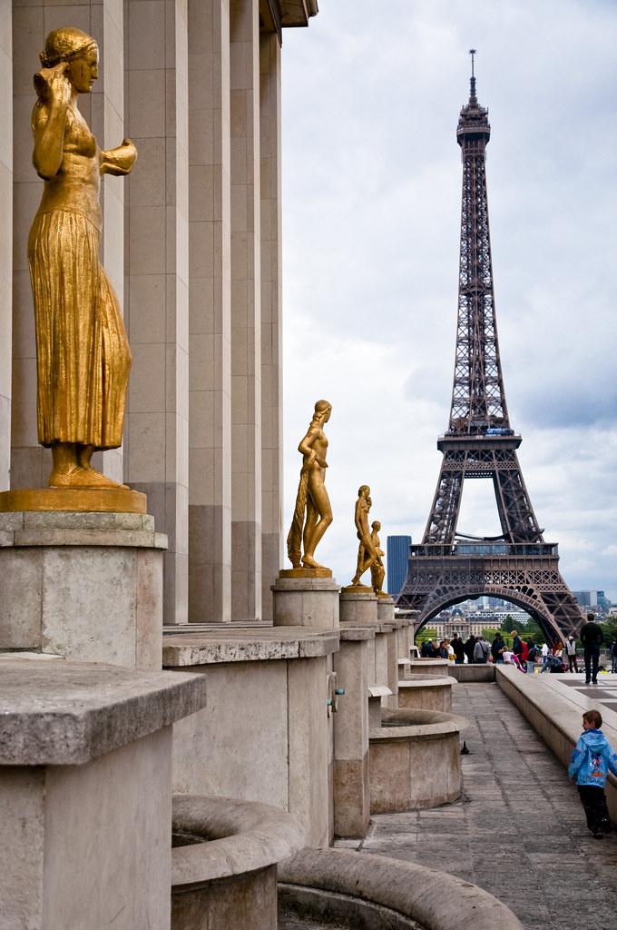 Tour Eiffel from Palais de Chaillot