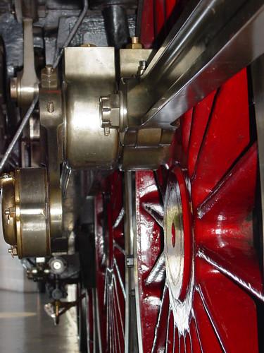 LNER 4468 Mallard driving gear