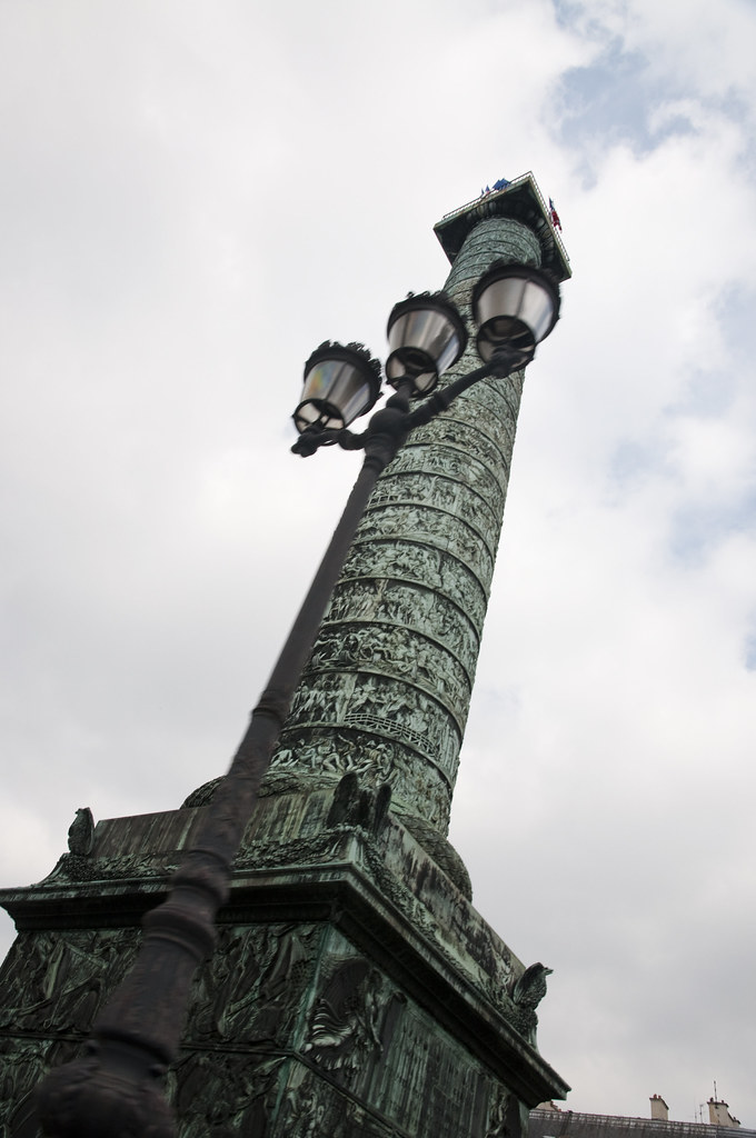 Bronze Column at Place Vendôme