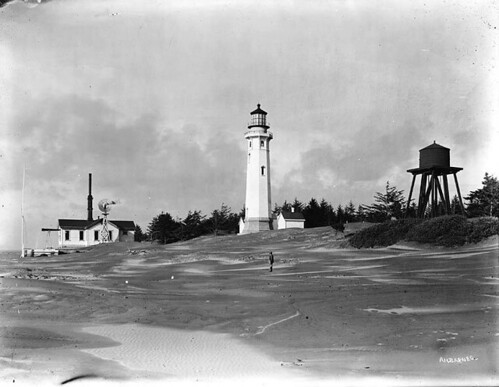 Grays Harbor Lighthouse and watertower, Washington