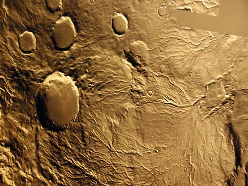 Redes hidroficas.Marte-Tierra. Una anatomía comparada.Telde.Gran Canaria