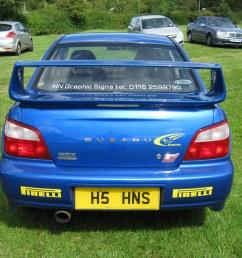 2002 subaru wrx sti prodrive impreza 1994cc h5hns fn02fmp by midlands vehicle photographer  [ 1024 x 768 Pixel ]