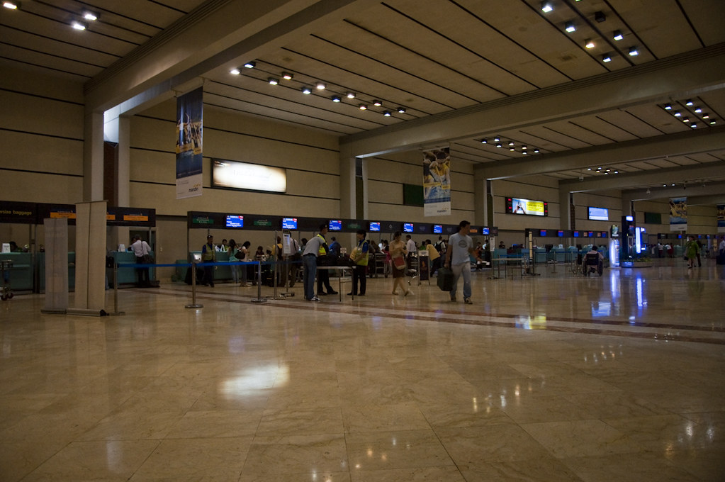 Soekarno-Hatta International Check-In Counter