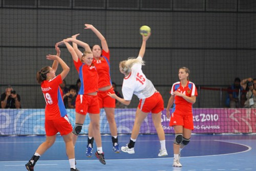 Day 11 Handball (25 Aug 2010)