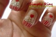 nail art cupcake konad