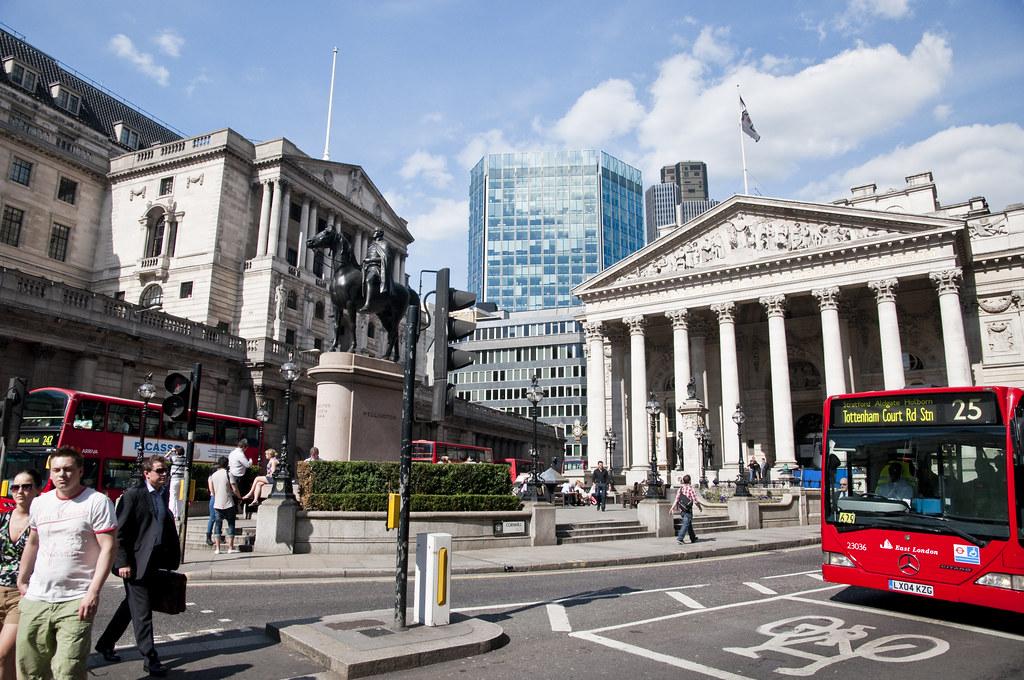 Royal Exchange Building & Bank of England