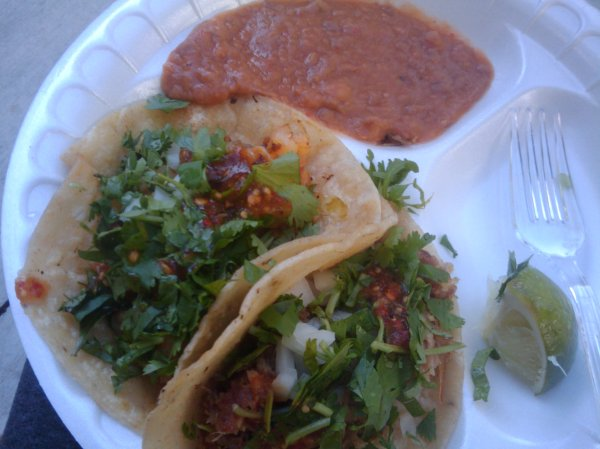 Tacos Bricell Catering Frogtown Art Walk 2010 - Sharing