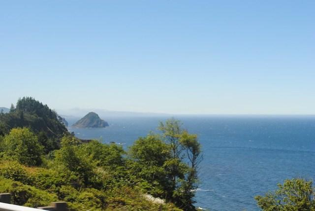 Oregon Coastline on our Way Home
