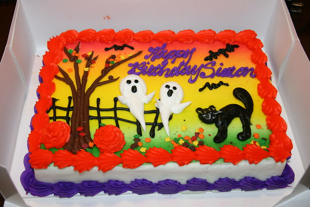 Simons birthday cake from Target  Flickr  Photo Sharing