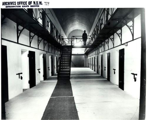 Gaol interior