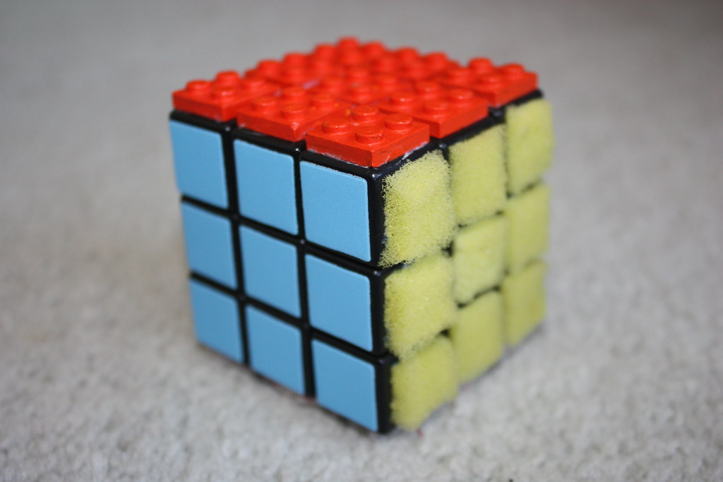 blindfold rubik s cube