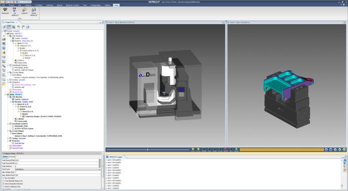 Create cnc operation with vericut 8.0 full