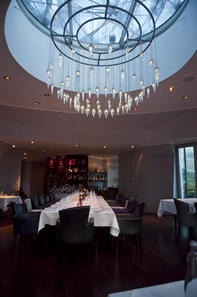 Inside Celeste Restaurant