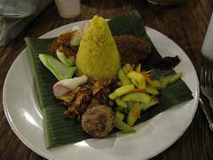 Indonesian dinner, Singapore