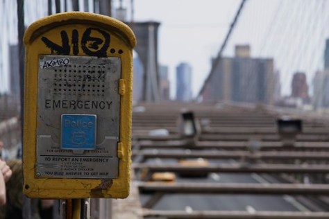 Emergency on Brooklyn Bridge