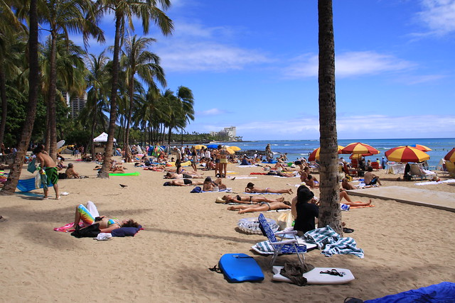 Waikiki Beach Hawaii,