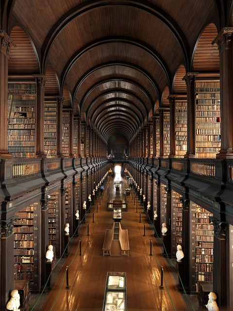 Dublin - Trinity College Library