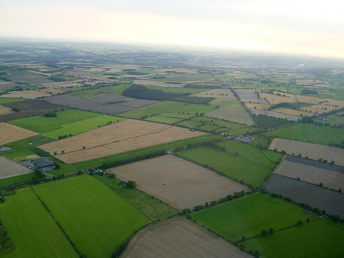 Wall Mile 18 from the air