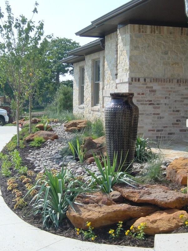 custom landscape design flowermound