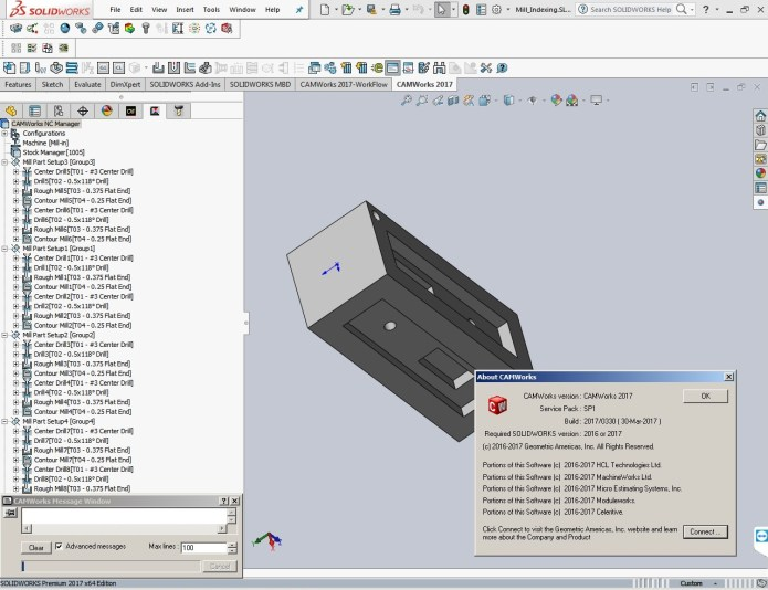 CAMWorks 2017 SP1 Multilang for SolidWorks 2016-2017 Win64