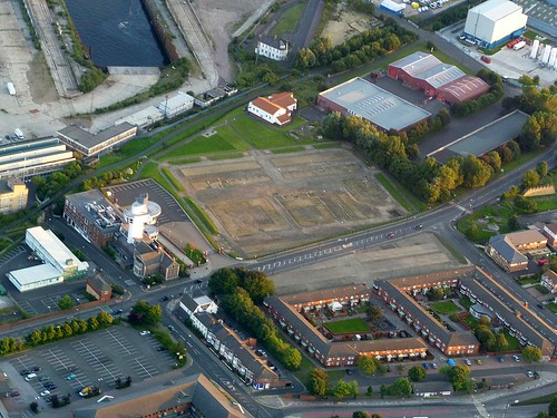 Wallsend from the air