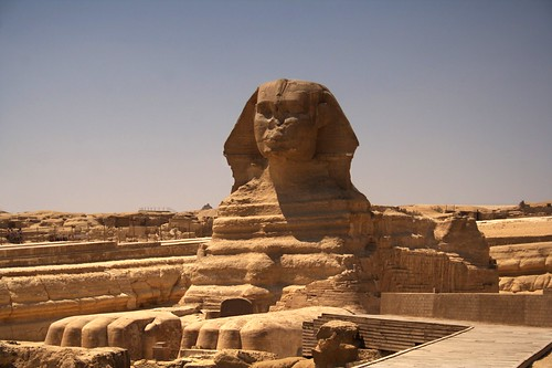 Sphinx in Egypt