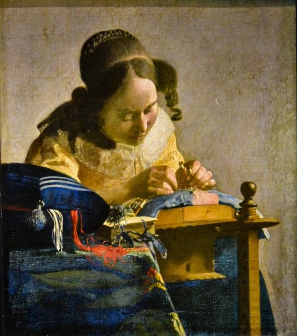 Johannes Vermeer - Lacemaker Mus Du Louvre Paris