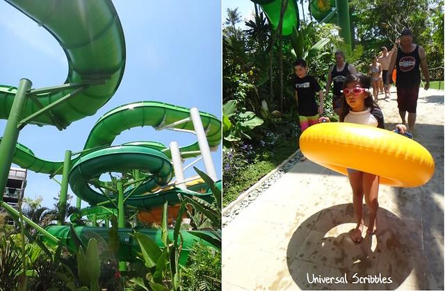 Waterbom Bali Slides