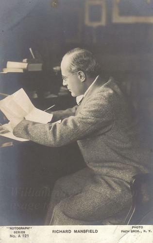 Richard Mansfield.