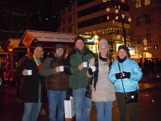 Steve, Mike, Damon, me & Angie