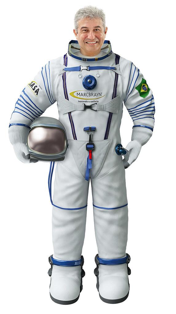 Astronauta Marcos Pontes Foto Do Astronauta Marcos