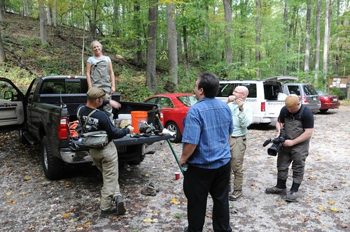 MPT Outdoors Maryland gearing up to Fly fish the Gunpowder