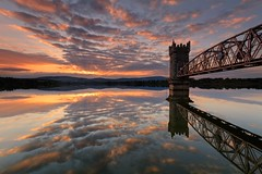 Sunset - Roundwood Reservoir, Wicklow, Ireland
