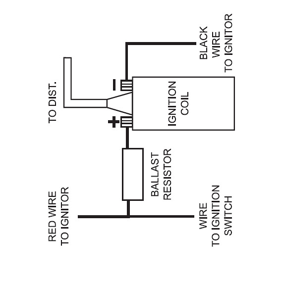 12 volt points ignition wiring diagram