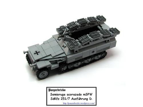 SdKfz 251/7 de Panzerbricks