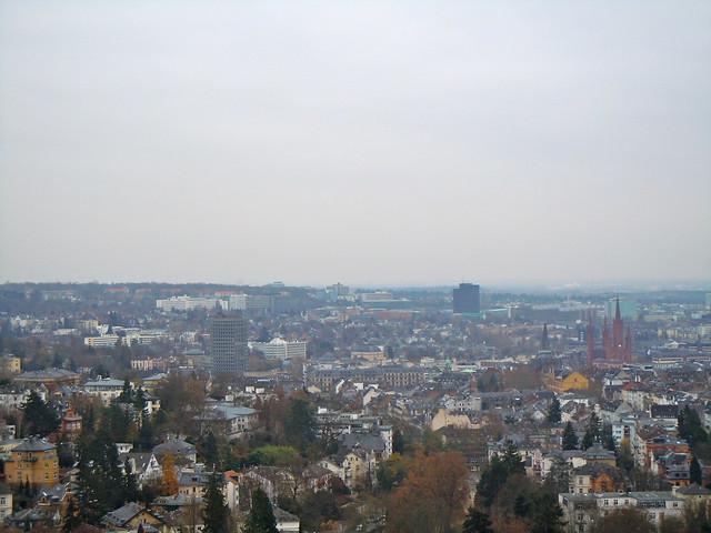 Wiesbaden skyline