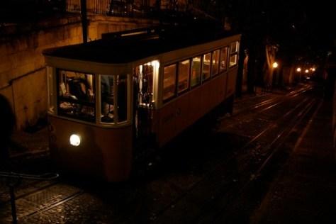 Funicular railway, Lisbon, Portugal