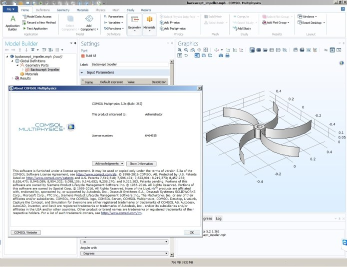 working with Comsol Multiphysics 5.2a Update3 Full Win-Linux x64