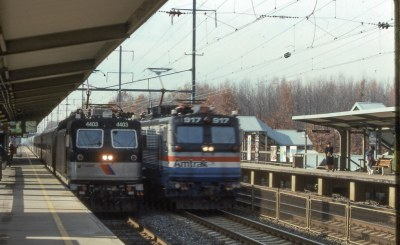 19931109 19 Amtrak Yankee Clipper Princeton Jct., NJ