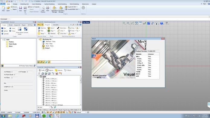 Working with MecSoft VisualCADCAM 2017 v6.0.413 full