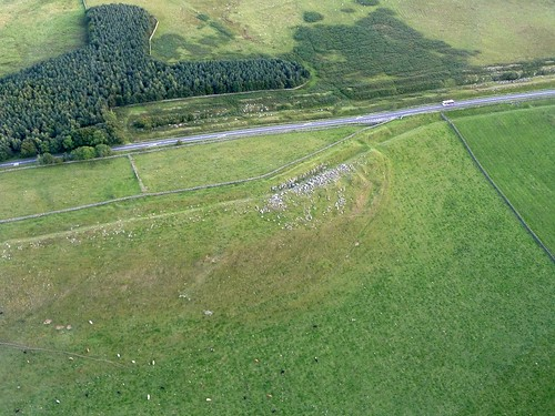 Milecastle 30 and the Limestone Corner ditch debris