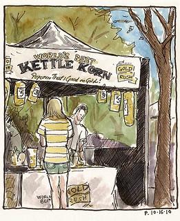 gold rush kettle korn