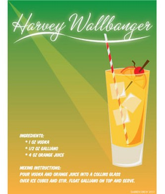 Cappuccino, Abet and Aid Punsters, Harvey Wallbanger, Bold and Pungent