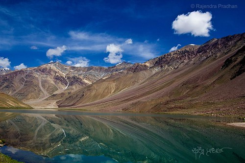 Chandra Taal,Spiti valley, Himachal Pradesh, India