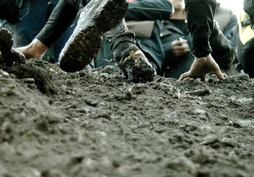 Mud scratch