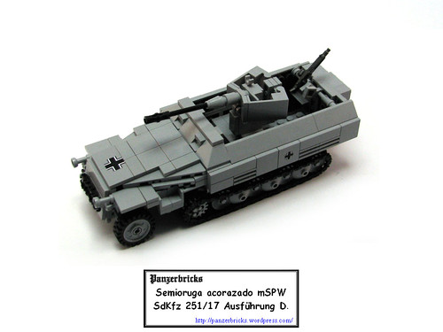 SdKfz 251/17 de Panzerbricks