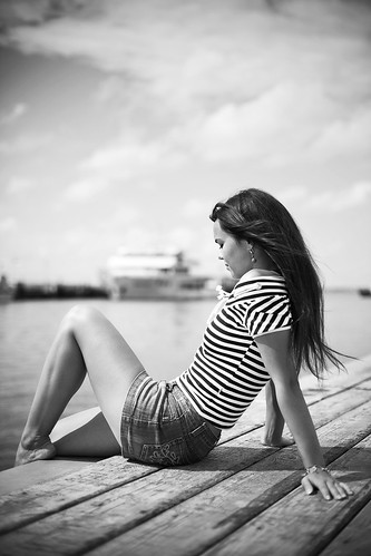 waiting for her ship by luke Photographer