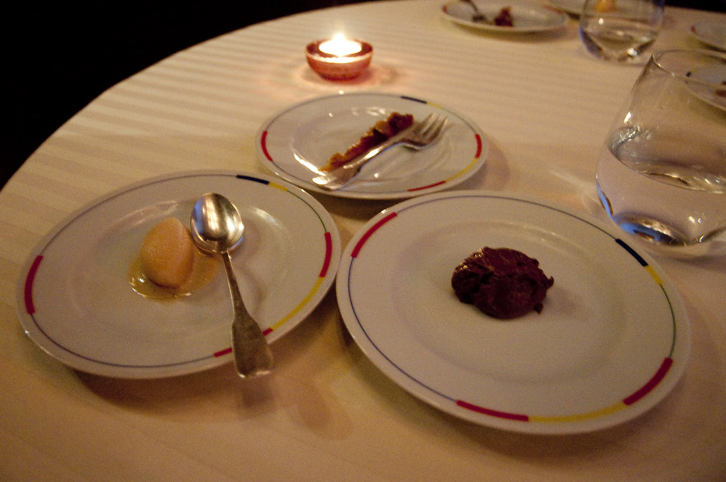 Selections from the Dessert Tray